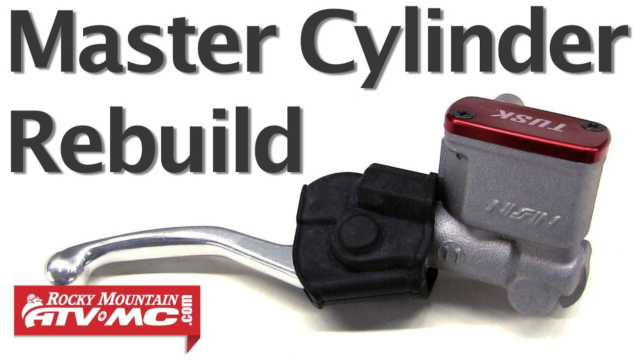how to rebuild a master cylinder on a motorcycle or atv