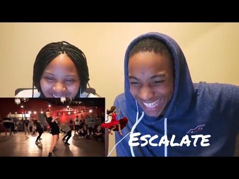 Tsar B - Escalate - Choreography by Alexander Chung - ft Jade Chynoweth **Reaction**