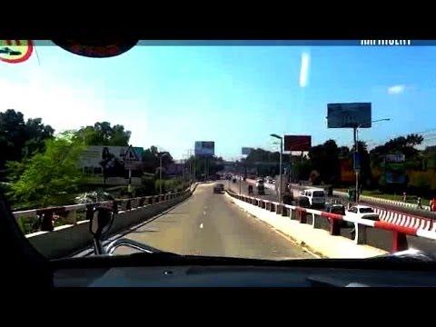 Kuril Flyover Dhaka Bangladesh HD - Bissho Road to Banani Gulshan Mohakhali Mirpur