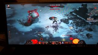 "AOC Q2963Pm 29"" 21:9 monitor playing Diablo 3, Minecraft"