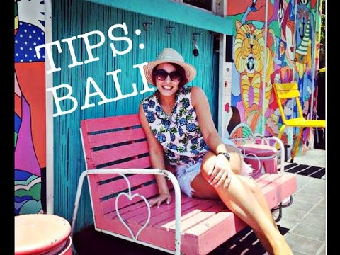 Tips when traveling to Bali for the first time! :)