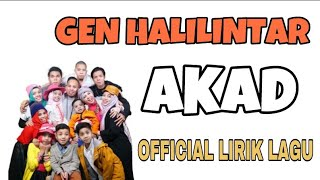 download lagu Payung Teduh - Akad Cover By Gen Halilintar  gratis