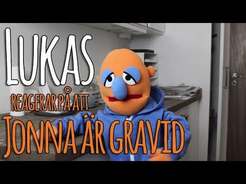 Lukas reagerar på att Jonna är gravid