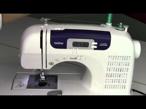 sewing machine 6000i
