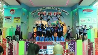 Đội Hình Nhảy Cổ Động THPT Mạc Đĩnh Chi - Chung Kết Ve Con 2015