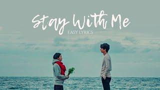 Chanyeol & Punch - Stay With Me - EASY LYRICS [PRONUNCIACIÓN]