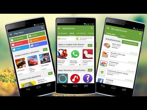 Descargar e Instalar Play Store 5.0 en Cualquier Android   Ultima Version en Español 2015
