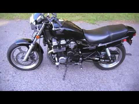 1998 Honda Nighthawk 750 walk-around while running