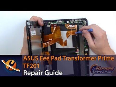 Asus Eee Pad Transformer Prime TF201 Screen Repair Guide
