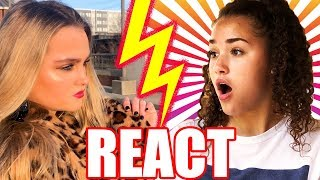 "Gracie REACTS to Ivey's ""Fake Friends"" Music Video"
