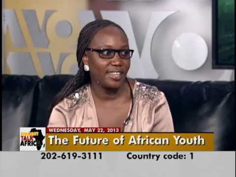 Souad Aflaki on the Global Youth Summit on VOA's Straight Talk Africa