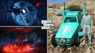 I've opened the Hatch in GTA 5 and This Is What's Inside! (Secret Location, Monster and Rare Car)