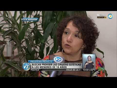 Visión 7: Proyecto para prohibir cirugías estéticas en menores de 18 años