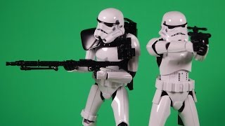 Bandai Star Wars Sandtrooper 1:12 Scale Model Kit Build and Review