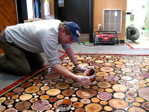 Bill Duke Pouring Brown Epoxy Youtube