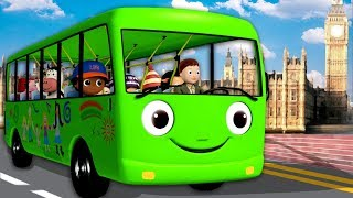🔴Wheels on The Bus | Learn English | Nursery Rhymes | Little Baby Bum Live | Baby Songs