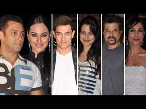DABANGG 2 Grand Premiere - Salman Khan, Sonakshi Sinha & Aamir khan