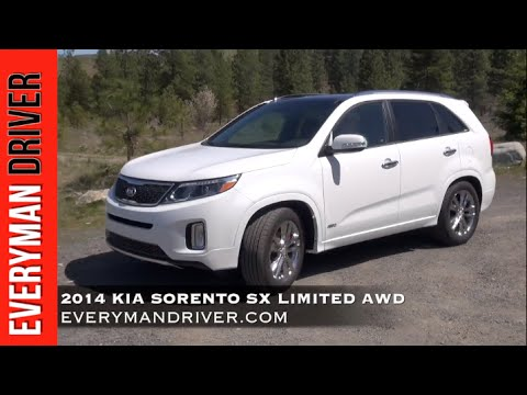 2014 Kia Sorento   New Car Review   on Everyman Driver