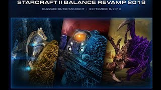 Parche balance 2018 Starcraft II con comedia y drama