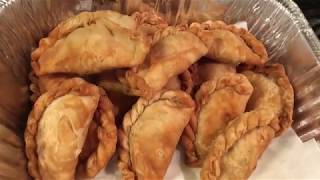 How to make Deep fried Dumplings with the mung bean filling (Nom popeay chean snool san deik)