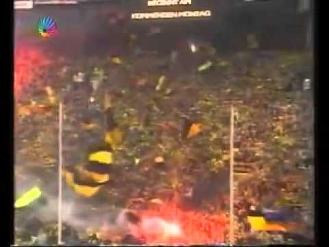 Dortmund Fans Pyro Dortmund as Roma Bvb Fans