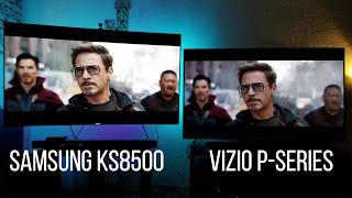 Vizio P-Series vs Samsung 4K HDR Quantum Dot TV