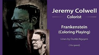 Frankenstein Coloring (10x Speed Version)