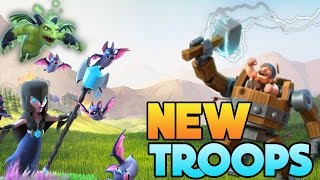 Clash of Clans   New TROOPS in Huge CoC Update!! Night Witch, War machine + More! New Troops May 22!