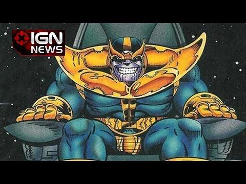 Josh Brolin's Thanos Revealed by Marvel - IGN News