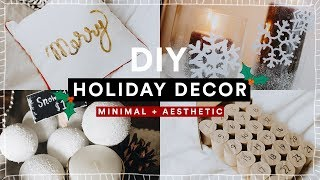 DIY Christmas Room Decor + GIVEAWAY! Cheap + Aesthetic Holiday Decorations // Lone FOx