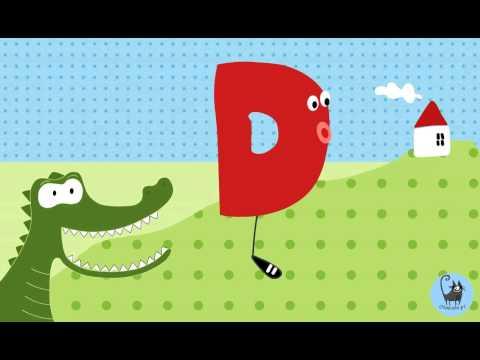 Alfabetka D - Piosenka Dla Dzieci