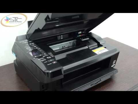Multifuncional Epson Stylus TX220 con Cartuchos Recargables