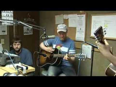 Shawn Mullins in Studio