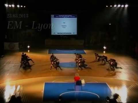 Ecktown-Team (Zusammenschnitt) - Europameisterschaft Lyon 2013