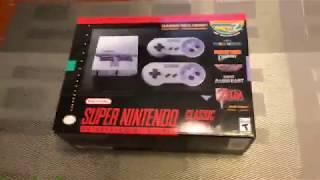 IN STOCK November 2017 Super Nintendo classic edition mini. I got one!