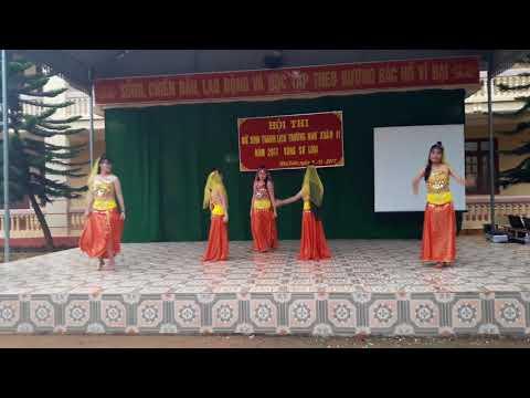 Tiết mục Ấn Độ Tempertation Nữ sinh thanh lịch - 10A THPT NHƯ XUÂN 2 |