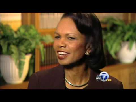 Condoleezza Rice reflects on her role in history.