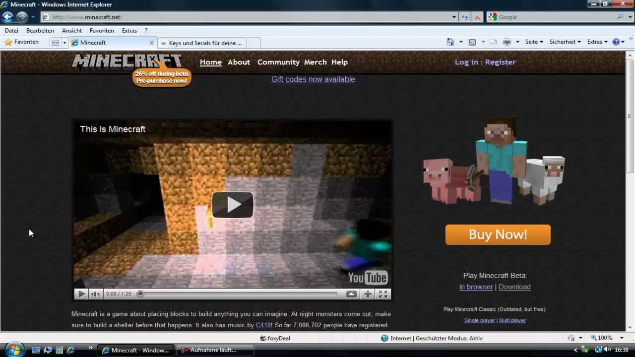 www.minecraft.net kaufen