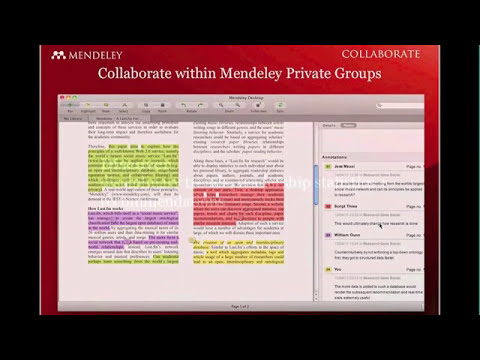 Webinar - Mendeley for Engineers (2011-08-25)