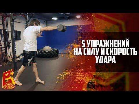 Пять упражнений на силу и скорость удара