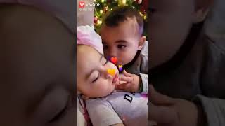 Ssoo quite baby loving each other tooo many good