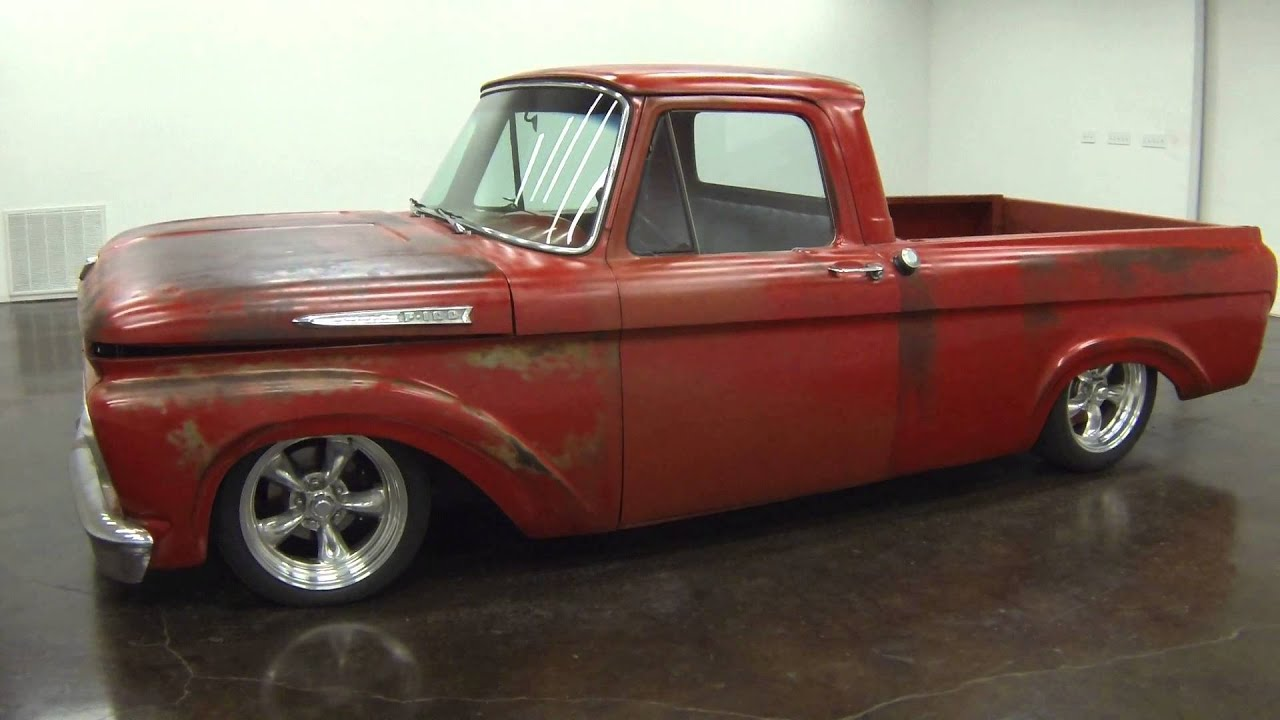 1962 Ford F100 Short Bed Unibody Pickup Youtube