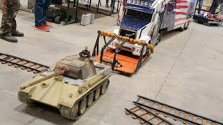 Modeltruck recovery truck not working with tank