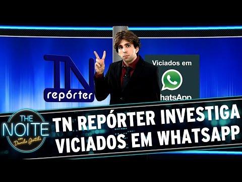 The Noite (30 03 15) - The Noite Repórter: Viciados Em Whatsapp video