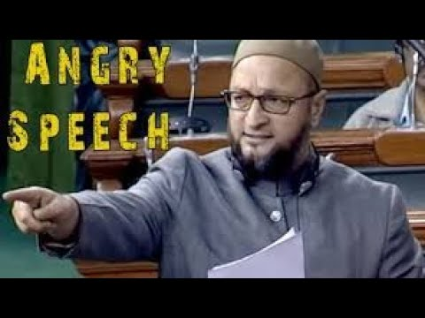 Asaduddin Owaisi's speech in Parliament President Address.
