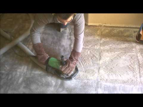How to clean grout on floor tiles