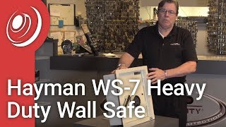Overview - Hayman WS-7 Heavy Duty Wall Safe