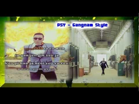 Gangnam Style - Psy (karaoke instrumental) video