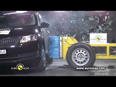 Euro NCAP | Skoda Rapid | 2012 | Краш-тест