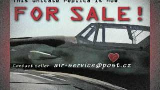 MESSERSCHMITT Bf 109G-12 - ULL 85% Replica - NOW FOR SALE!!!
